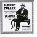 Blind Boy Fuller Vol. 3 1937Complete Recorded Works In Chronological Order: Volume 3 (12 July To 15 December 1937) thumbnail
