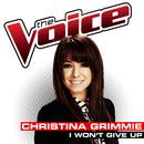 I Won't Give Up (The Voice Performance) (Single) thumbnail