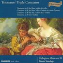 Telemann: Triple Concertos: in Bb for 3 Oboes & 3 Violins; in A for Flute, Violin & Cello; in F for 3 Violins; in E for Flute, Oboe d'Amoure & Viola d'Amoure thumbnail